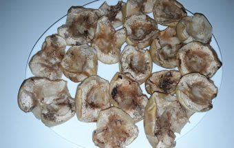 Kepti obuoliai su cinamonu ir medumi receptas