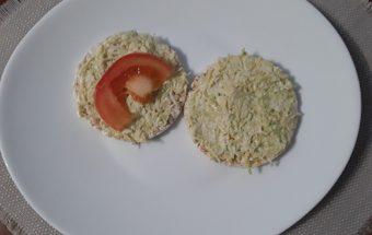 Kiaušinių - avokado - sūrio užtepėlė