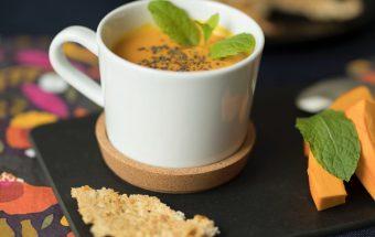 Receptas kaip gaminti moliūgų sriubą vaikams.