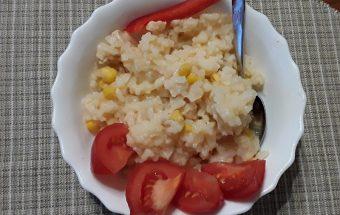 Plovo receptas su kukurūzais.