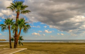 Kipras Paplūdimys Kipre.